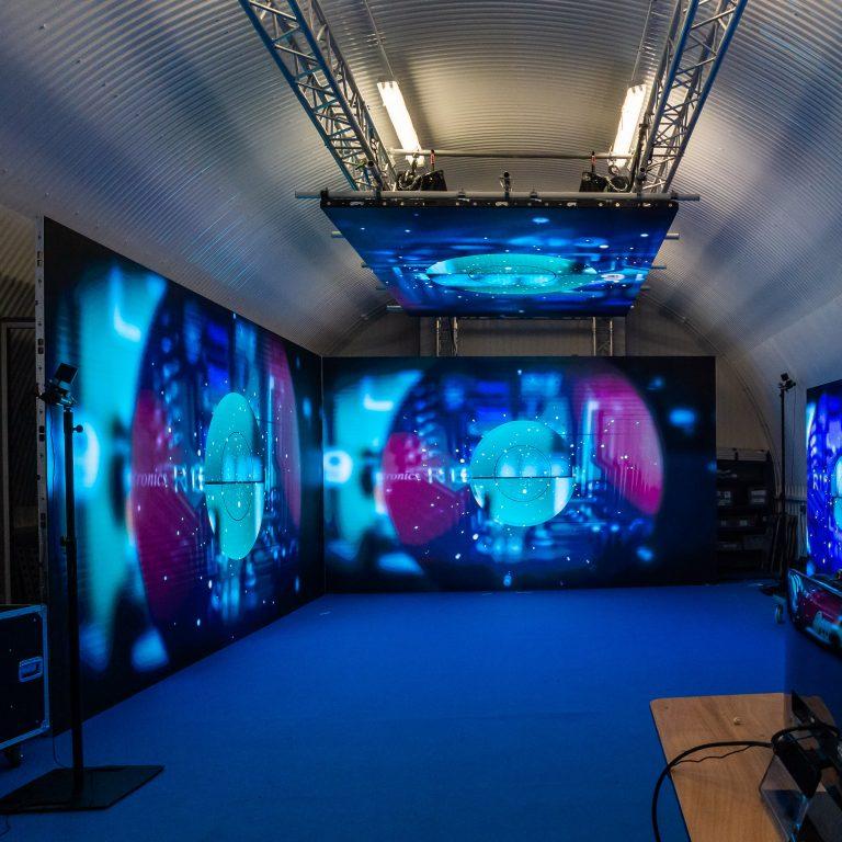 Virtual Production using LED walls