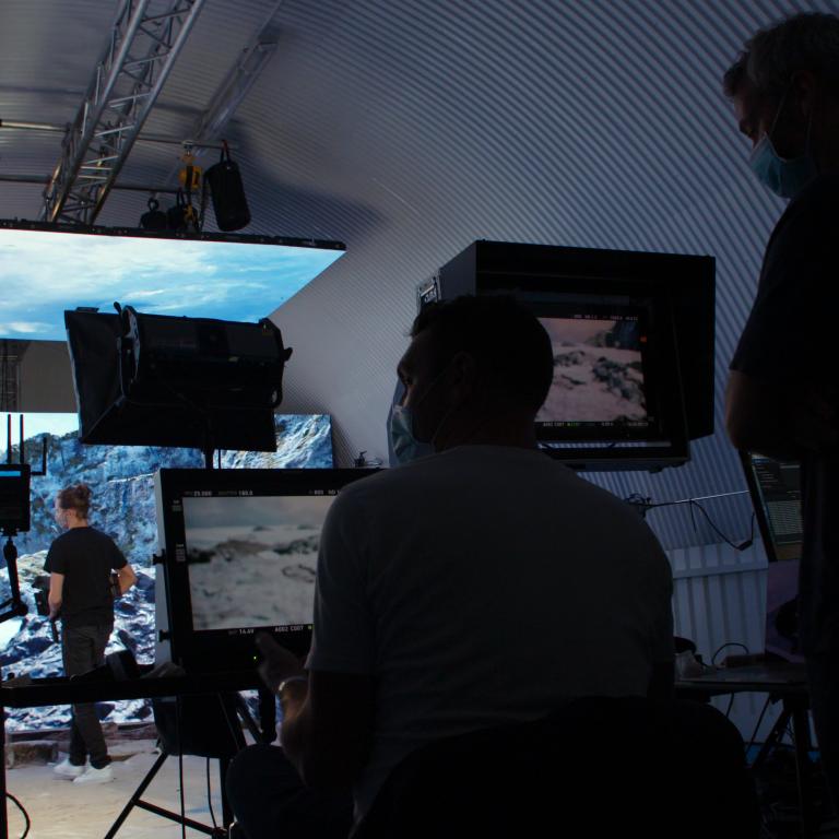 The LED Screen Studio