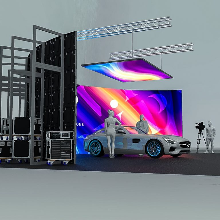 LED Screens for film shoots