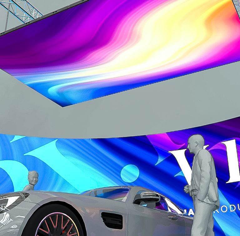 LED Screens for film and TV